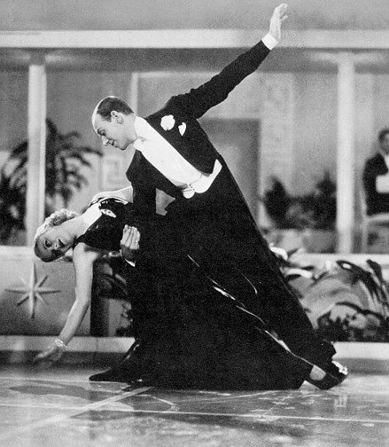 Fred Astaire Ginger Rogers 2 Blue Light Lady